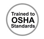 Trained to OSHA Standards