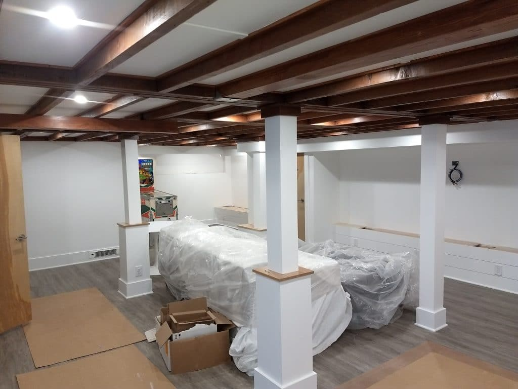 Basement finish interior house painters