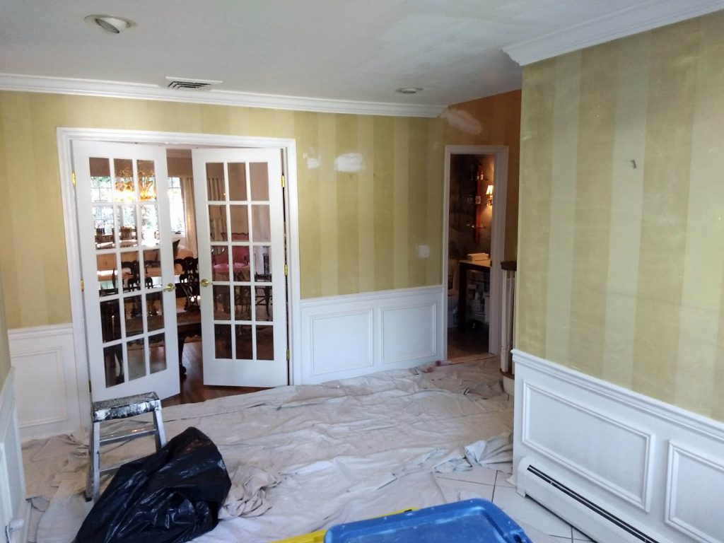 interior of home being remodeled